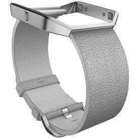 Fitbit フィットビット Blaze交換用レザーバンド+フレーム Small MistGrey FB159LBMGS-APAC[FB159LBMGSAPAC]