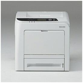 リコー RICOH カラーレーザープリンター ホワイト RICOH SP C341 [はがき〜A4][RICOHSPC341]【プリンタ】