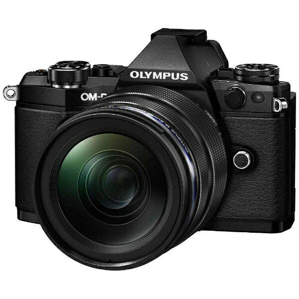 【送料無料】 オリンパス OM-D E-M5 Mark II【12-40mm F2.8 レンズキット】(ブラック)/ミラーレス一眼カメラ[OMDEM5MARK2・1240M]