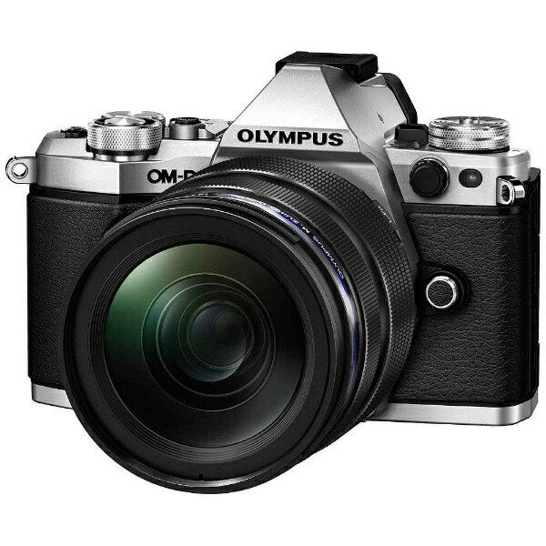 【送料無料】 オリンパス OM-D E-M5 Mark II【12-40mm F2.8 レンズキット】(シルバー)/ミラーレス一眼カメラ[OMDEM5MARK2・1240M]