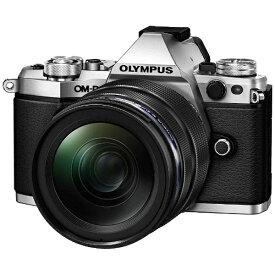 オリンパス OLYMPUS OM-D E-M5 Mark II【12-40mm F2.8 レンズキット】(シルバー)/ミラーレス一眼カメラ[OMDEM5MARK2・1240M]