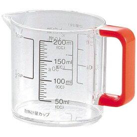 パール金属 PEARL METAL カラーズ 耐熱計量カップ200 OR オレンジ C-1387[C1387]【2111_cpn】