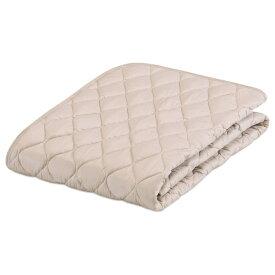 フランスベッド 【ベッドパッド】フランスベッド グッドスリーププラス 羊毛パッド(シングルサイズ/97×195cm/ベージュ)