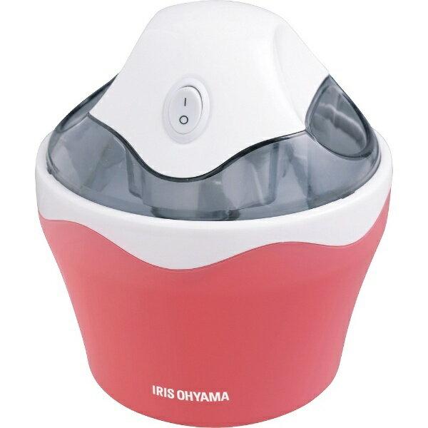アイリスオーヤマ IRIS OHYAMA アイスクリームメーカー ICM01-VS ストロベリー