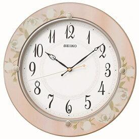 セイコー SEIKO 掛け時計 【スタンダード】 ピンク KX220P [電波自動受信機能有]