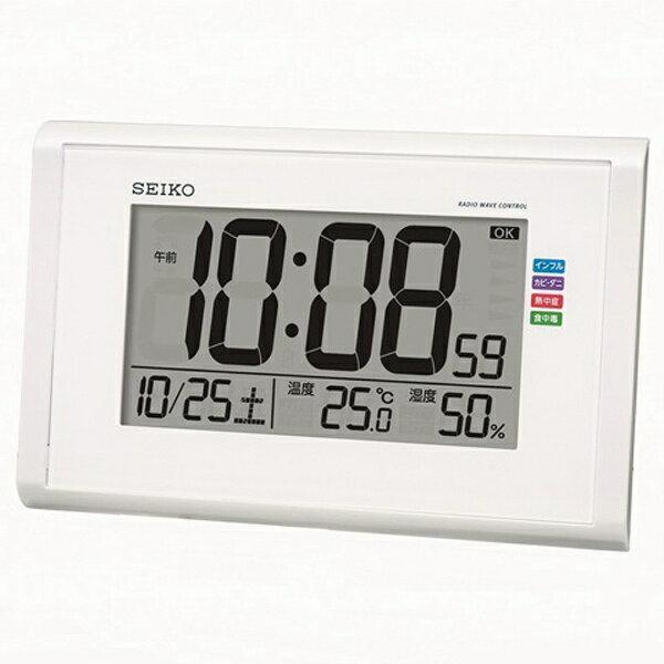 セイコー 電波掛け置き兼用時計 SQ439W[SQ439W]