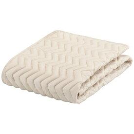 フランスベッド FRANCEBED 【ベッドパッド】グッドスリーププラス バイオパッド(セミダブルサイズ/122×195cm/キナリ) フランスベッド