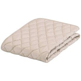 フランスベッド FRANCEBED 【ベッドパッド】グッドスリーププラス 羊毛パッド(セミダブルロングサイズ/122×205cm/ベージュ) フランスベッド [生産完了品 在庫限り]