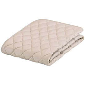 フランスベッド FRANCEBED 【ベッドパッド】グッドスリーププラス 羊毛パッド(ダブルロングサイズ/140×205cm/ベージュ) フランスベッド [生産完了品 在庫限り]