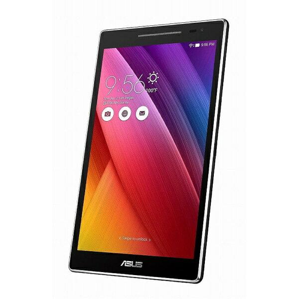 【送料無料】 ASUS エイスース 【LTE対応】ZenPad 8.0 ブラック [Z380KNL-BK16] 8型・Snapdragon・ストレージ 16GB・メモリ 2GB microSIMx1 Android 6.0.1 SIMフリータブレット