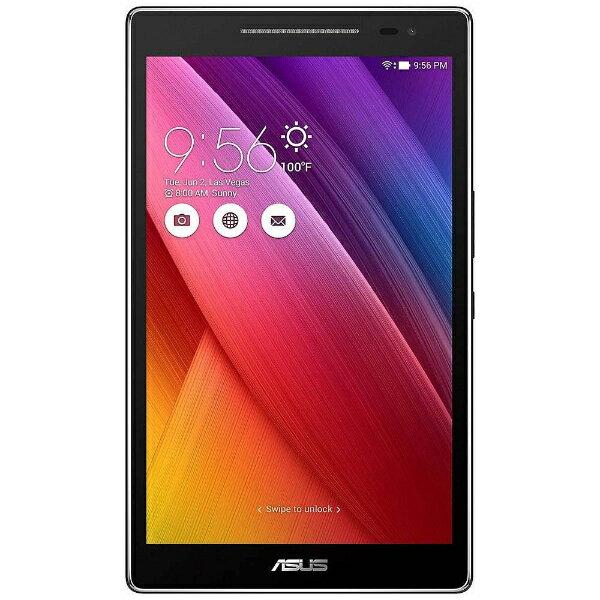 【送料無料】 ASUS Android 6.0タブレット[8型・MediaTek・ストレージ 16GB・メモリ 2GB] ASUS ZenPad 8.0 ブラック Z380M-BK16 (2016年7月モデル)
