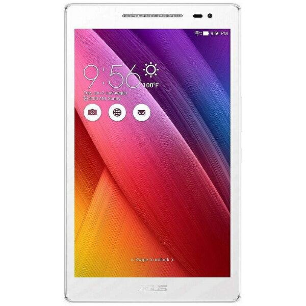 【送料無料】 ASUS Android 6.0タブレット[8型・MediaTek・ストレージ 16GB・メモリ 2GB] ASUS ZenPad 8.0 ホワイト Z380M-WH16 (2016年7月モデル)[Z380MWH16]