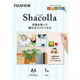富士フイルム FUJIFILM シャコラ(shacolla) 壁タイプ 1枚パック A4サイズ