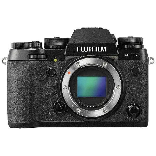 【送料無料】 フジフイルム FUJIFILM FUJIFILM X-T2【ボディ(レンズ別売)/ミラーレス一眼カメラ】[FXT2B]