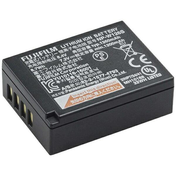 富士フイルム FUJIFILM 充電式バッテリー NP-W126S[FNPW126S]