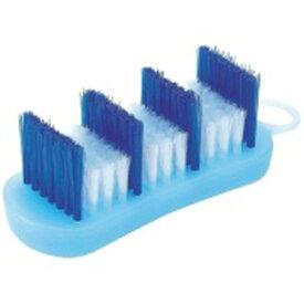 マーナ MARNA 掃除の達人 風呂ブタ洗いブラシ <ブルー>