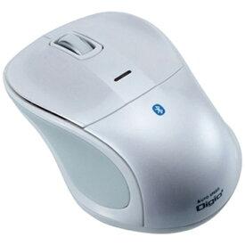 ナカバヤシ Nakabayashi MUS-BKT111W タブレット対応 マウス Digio2 ホワイト [BlueLED /3ボタン /USB /無線(ワイヤレス)][MUSBKT111W]