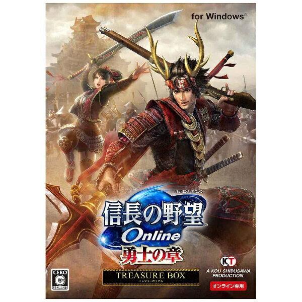 【送料無料】 コーエーテクモゲームス オンライン 〔Win版〕 信長の野望 Online −勇士の章− 【TREASURE BOX】
