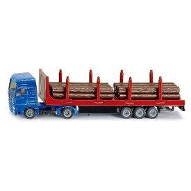 ボーネルンド Borne Lund siku MAN 木材運搬用トラック SK1659
