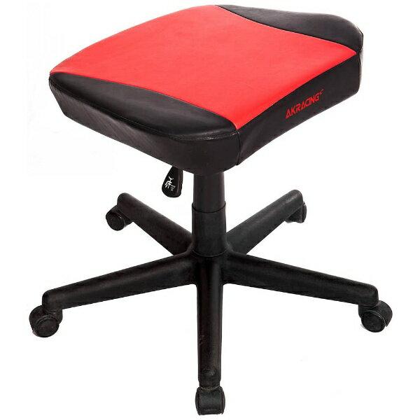 AKRACING 〔ゲーミングチェアオプション〕オットマン (レッド) AKR-FOOTREST-RED