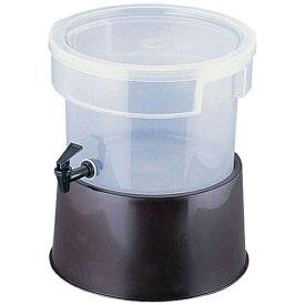カーライル CARLISLE カーライル 丸型ビバレッジディスペンサー 2227 3ガロン 茶 <FBB0802>[FBB0802]