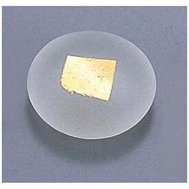 エムズジャパン ガラス丸金箔箸置 T28-02 <RHSP301>[RHSP301]