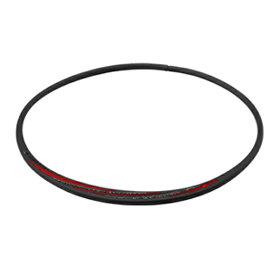 ファイテン PHITEN RAKUWAネックS スラッシュラインラメタイプ(ブラック×レッド/43cm)