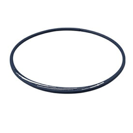 ファイテン PHITEN RAKUWAネックS スラッシュラインラメタイプ(ネイビー×ホワイト/43cm)