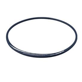 ファイテン PHITEN RAKUWAネックS スラッシュラインラメタイプ(ネイビー×ホワイト/50cm)