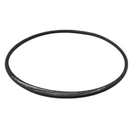 ファイテン PHITEN RAKUWAネックS スラッシュラインラメタイプ(ブラック×グレー/43cm)