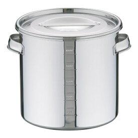 三宝産業 SAMPO SANGYO UK18-8目盛付 キッチンポット 20cm <AKTA813>[AKTA813]