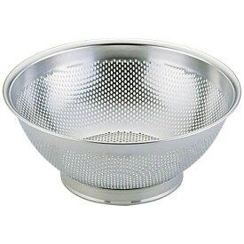 三宝産業 SAMPO SANGYO エコクリーン18-8パンチング水切りざる 30cm UK <AEK1405>[AEK1405]