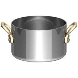 三宝産業 SAMPO SANGYO UK18-8プチ半寸胴鍋(蓋無) 10cm <PPT8603>[PPT8603]