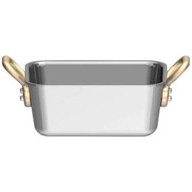 三宝産業 SAMPO SANGYO UK18-8プチ角型鍋 深型 10cm <PPT9503>[PPT9503]