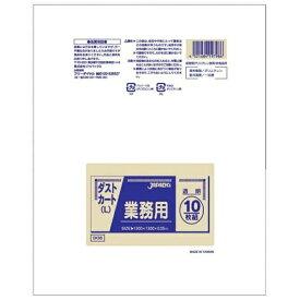 ジャパックス JAPACK'S 業務用ダストカート用ポリ袋L(150L) (100枚入) DK98 透明 <KPL2102>[KPL2102]