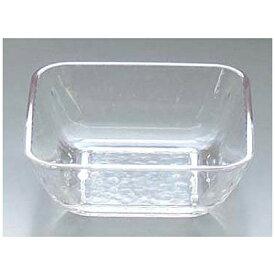 関東プラスチック工業 Kantoh Plastic Industry リップル 角小鉢 KB-120 クリア <RLT1002>[RLT1002]