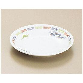 関東プラスチック工業 Kantoh Plastic Industry メラミン「雷門竜」M-12-R 平皿 (小) <RHL13>[RHL13]