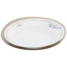 関東プラスチック工業 Kantoh Plastic Industry メラミン「雷門竜」M-40-R スープ皿 <RSC21>[RSC21]