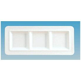 関東プラスチック工業 Kantoh Plastic Industry メラミン スクエアプレート3仕切皿 M-2393 <RSK7201>[RSK7201]
