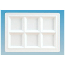 関東プラスチック工業 Kantoh Plastic Industry メラミン スクエアプレート6仕切皿 M-2360 <RSK7301>[RSK7301]