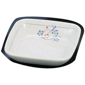 関東プラスチック工業 Kantoh Plastic Industry メラミン「かりん」角新香皿 M-335-K <RSV14>[RSV14]