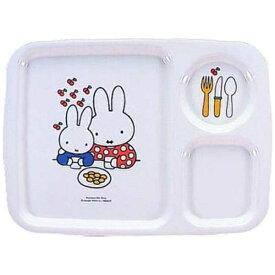 関東プラスチック工業 Kantoh Plastic Industry メラミンお子様食器 「ミッフィー」 角ランチ皿 CM-128 <RLVA4>[RLVA4]