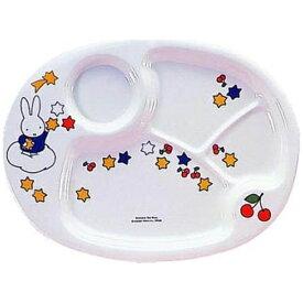 関東プラスチック工業 Kantoh Plastic Industry メラミンお子様食器 「ミッフィー」 ランチ皿 CM-69 <RLVA6>[RLVA6]