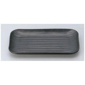 マイン MIN マイン メラミンウェア 黒 角皿 大 M11-138 <RMI7601>[RMI7601]