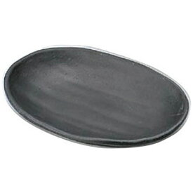 マイン MIN マイン メラミンウェア 黒 小判皿 小 M11-137 <RMI7503>[RMI7503]