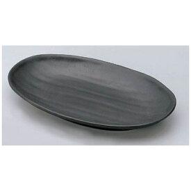 マイン MIN マイン メラミンウェア 黒 小判皿 大 M11-135 <RMI7501>[RMI7501]