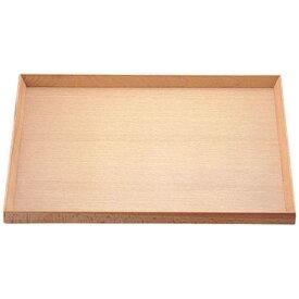 薗部産業 白木 ランチョントレー 尺2寸 03772 <PLV2301>[PLV2301]