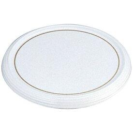よし与工房 oshiyo-kobo 陶器風メラミン製 ケーキトレー丸型 CT-3000-WS(金線入) <WKCH8300>[WKCH8300]