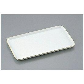 よし与工房 oshiyo-kobo 陶器製 ケーキトレー角型 EM-17-WS(金線入) <WKCH6017>[WKCH6017]