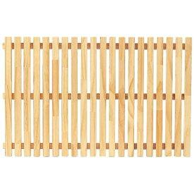 よし与工房 木製すのこ PW-3860 白木 <WSN0601>[WSN0601]